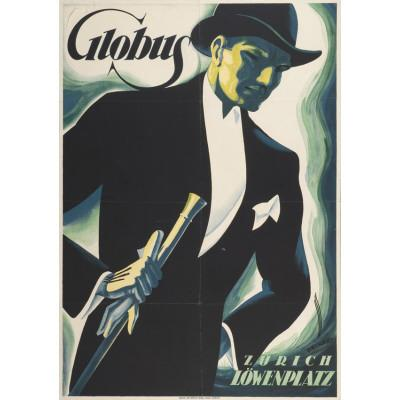 Kleidungsstil: So wirbt Globus in Zürich 1925