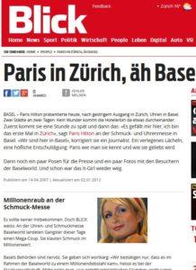 Viele Prominente tragen Replikate auf öffentlichen Anlässen oder Reisen: Hätte Paris Hilton hier Replikate präsentiert, wäre das nicht passiert...