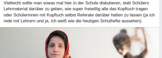 Bildschirmfotoausriß: Anabel Schunke / FB
